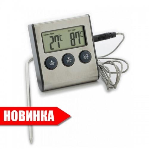 Термометр с выносным щупом и звуковой сигнализацией