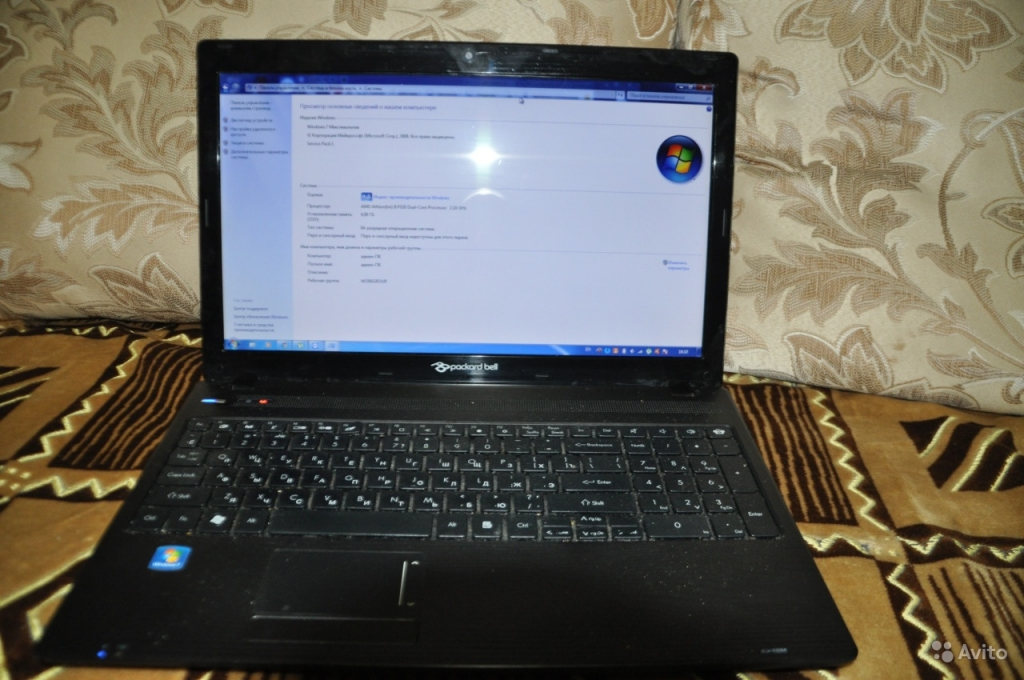 "Acer-Packard bell 15,6"" 2-х ядерн.HDD500  Товар продан!"