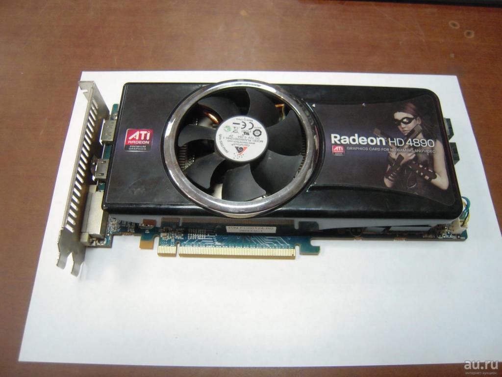 Radeon HD 4890 c 1 гб gddr5 hdmi DVi