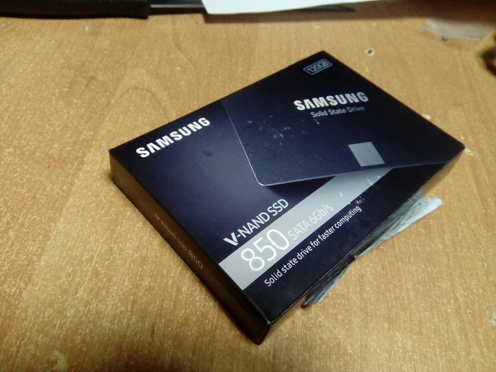 SSD SAMSUNG evo 850 120 гб