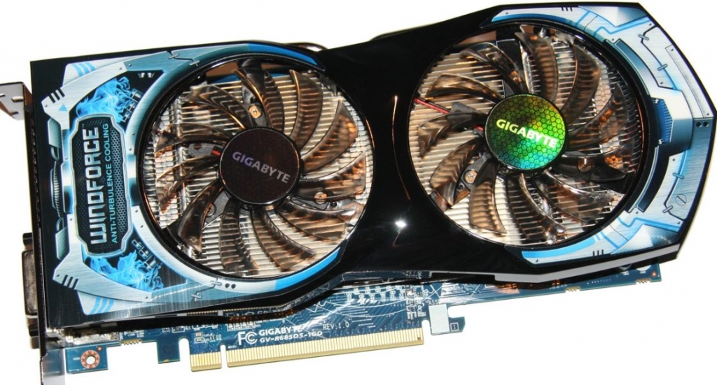 Gigabyte Radeon HD 6850 GV-R685OC-1GD