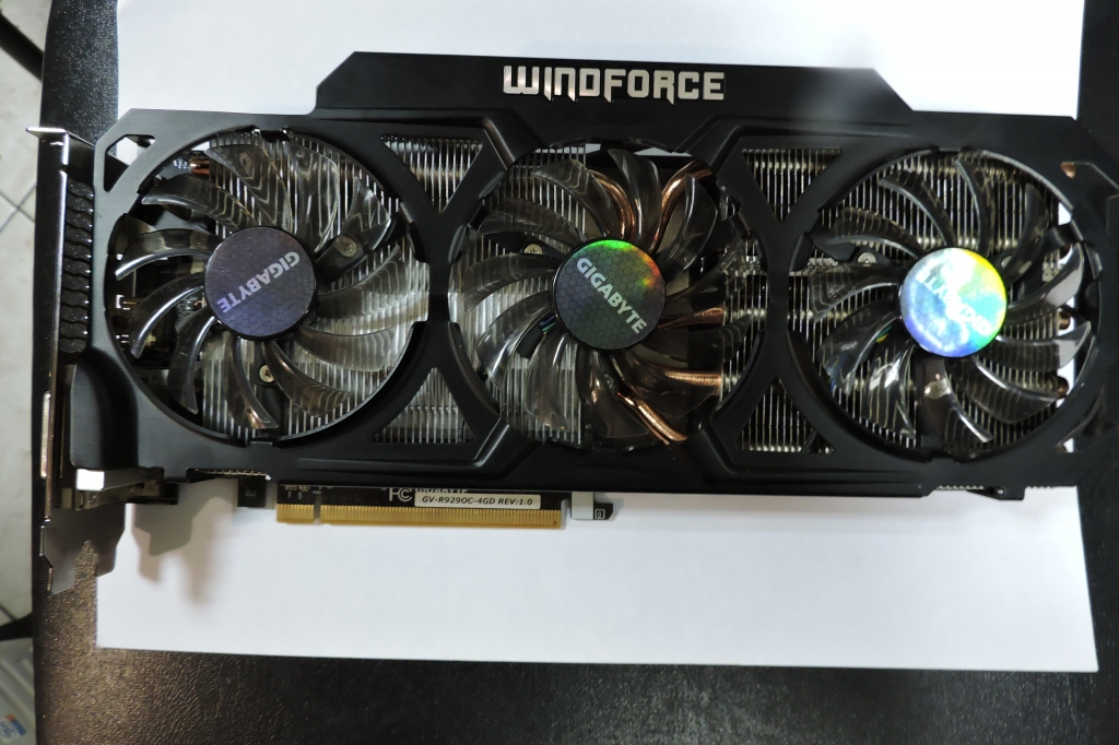 Gigabyte Radeon R9 290 4гб 512bit упаковка