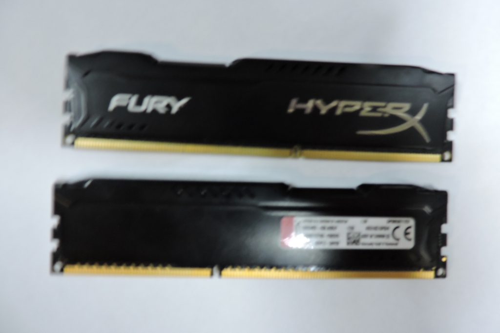 HyperX fury Black Series (HX316C10FB/4) 4 гб 1600