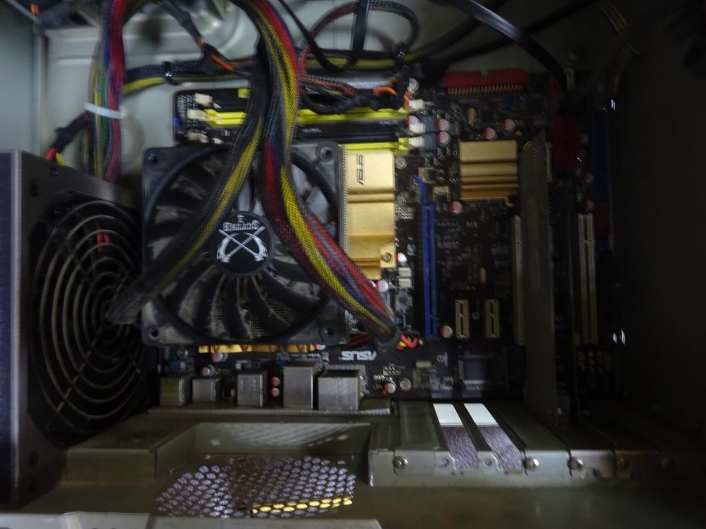 Asus P5Q LGA775+проц.Е6400 2ядра+охлаждение