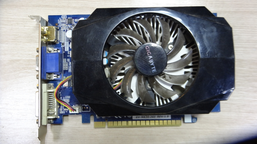 Gigabyte GeForce GT 630 (GV-N630-2GI) 2гб\128бит  ПРОДАНО!