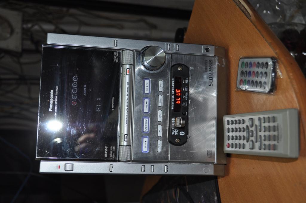 Panasonic SA-PM28 92года Добавлен мр3,Bluetooth