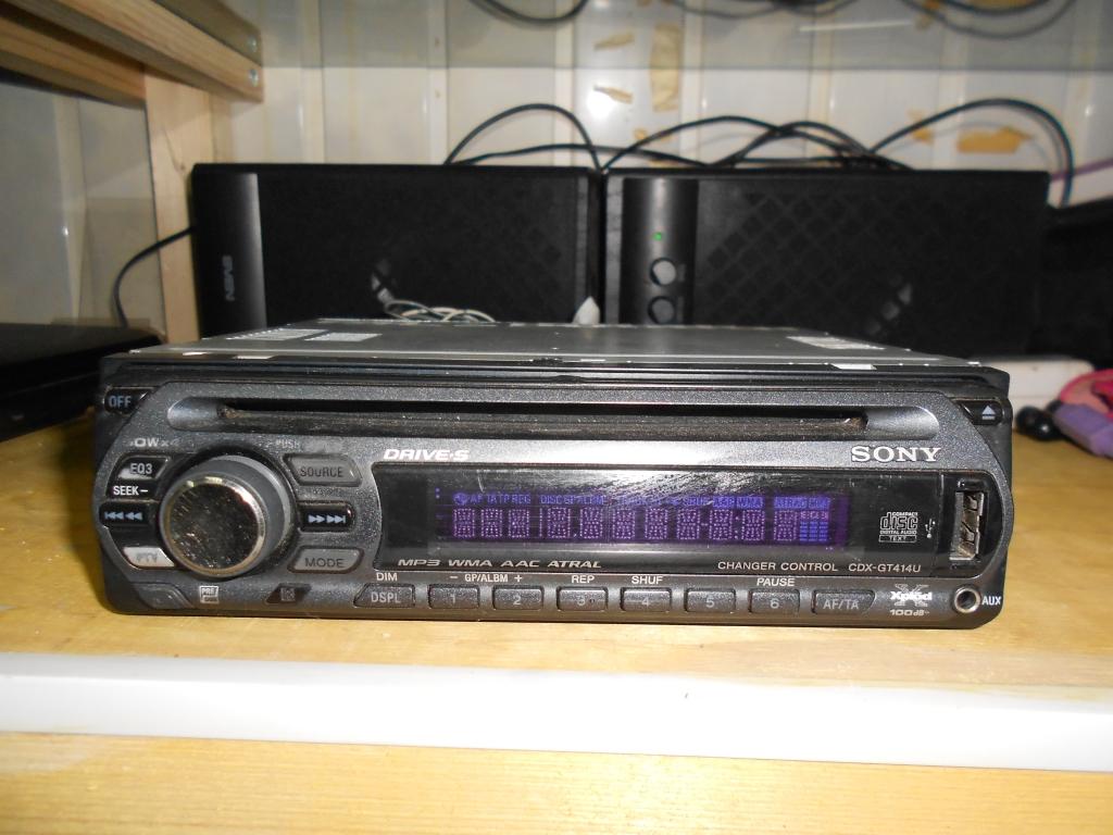 Sony GDX-GT414U USB Вход MP3 диск