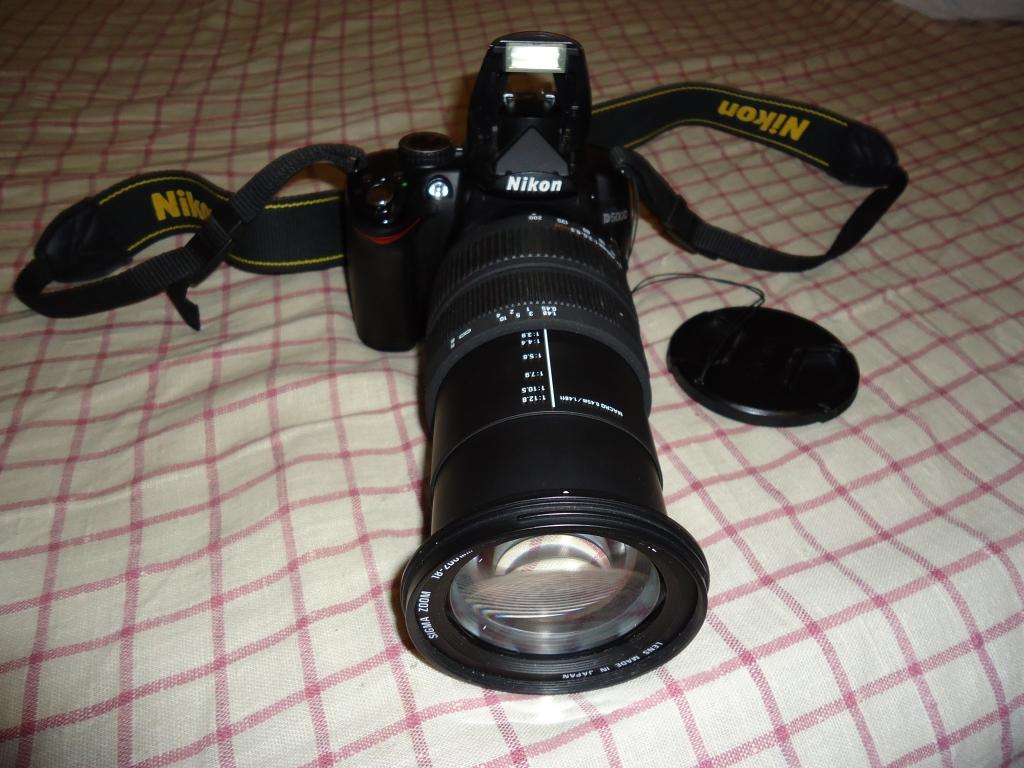 Nikon D5000+Sigma 18-200мм+сумка В отличном сост