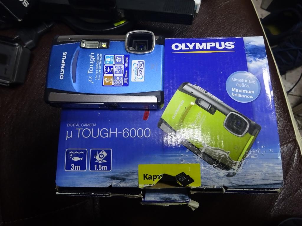 Olympus tough-6000 Подводный