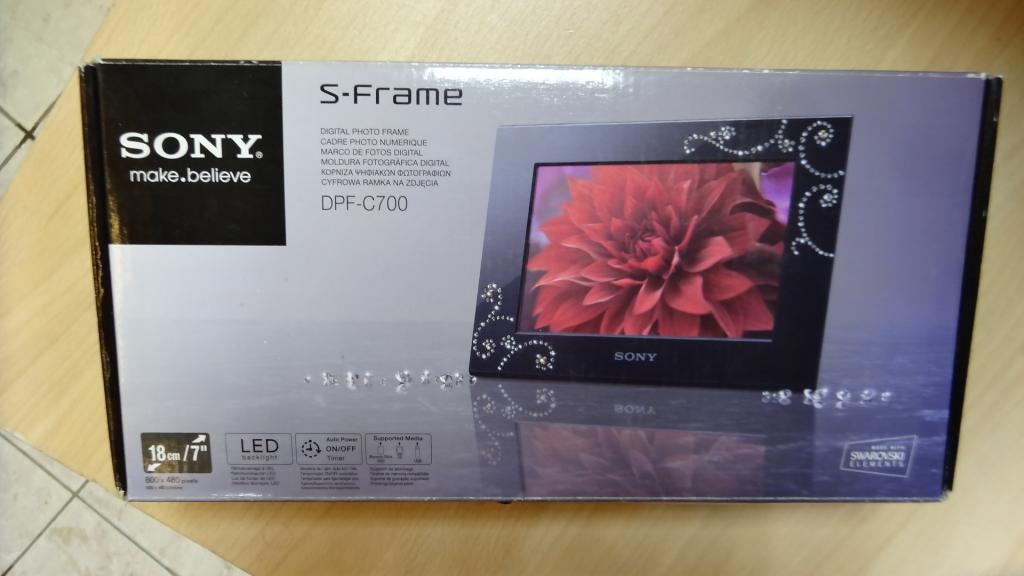 Фоторамка Sony DPF-C700 Новая в упаковке